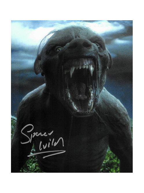 8x10 Harry Potter Werewolf Lupin Print Signed by Spencer Wilding