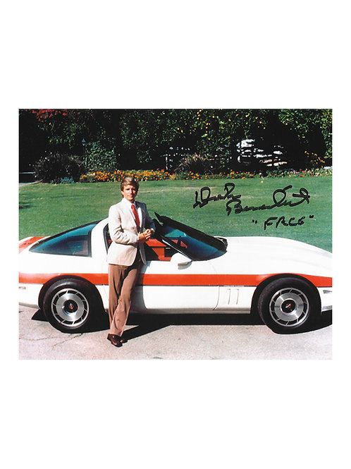 10x8 The A-Team Print Signed by Dirk Benedict