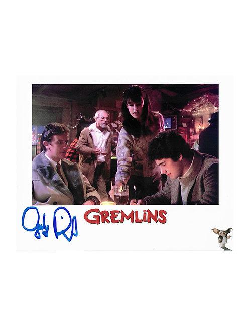 10x8 Gremlins Print Signed by Judge Reinhold