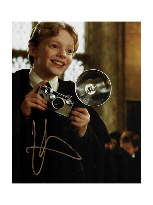 8x10 Harry Potter Print Signed by Hugh Mitchell
