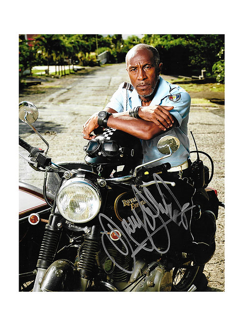 8x10 Death in Paradise Print Signed by Danny John-Jules
