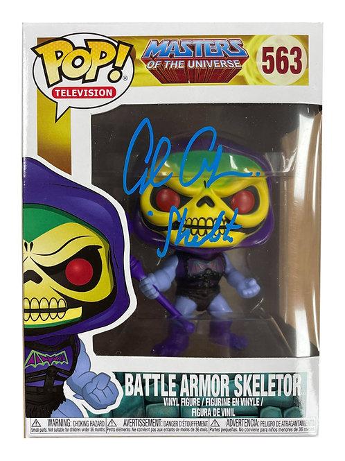 Skeletor He-Man Funko Pop Figure Signed By Alan Oppenheimer
