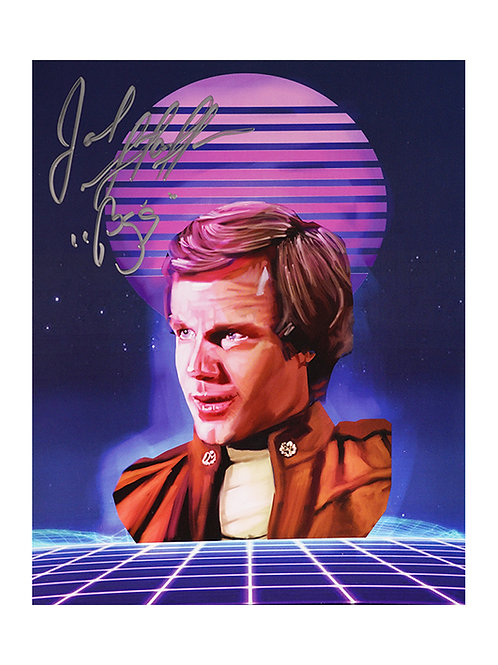 8x10 Battlestar Galactica Print Signed by Jack Stauffer