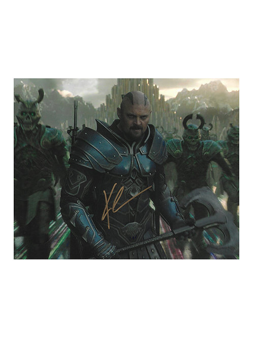 10x8 Thor: Ragnarok Print Signed by Karl Urban
