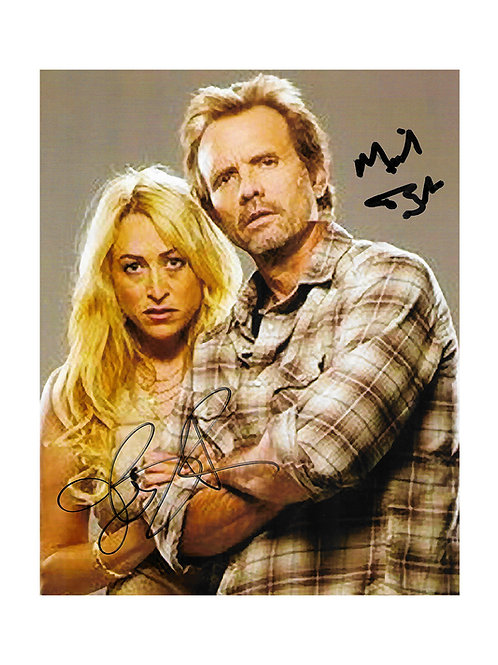 8x10 The Victim Print Signed by Michael Biehn & Jennifer Blanc-Biehn