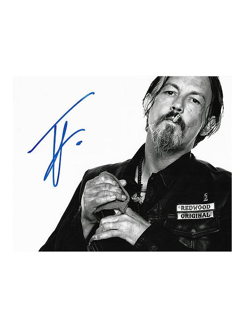 10x8 Sons Of Anarchy Print Signed by Tommy Flanagan