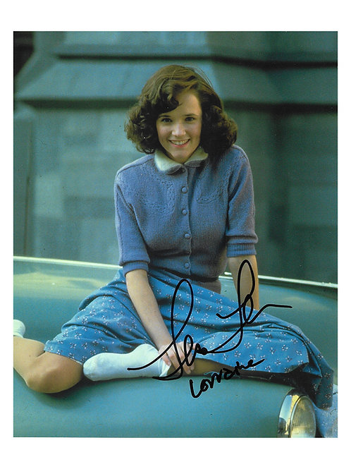 8x10 Back to the Future Print Signed by Lea Thompson