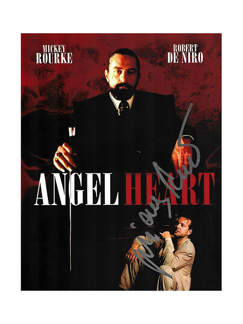 8x10 Angel Heart Print Signed by Mickey Rourke