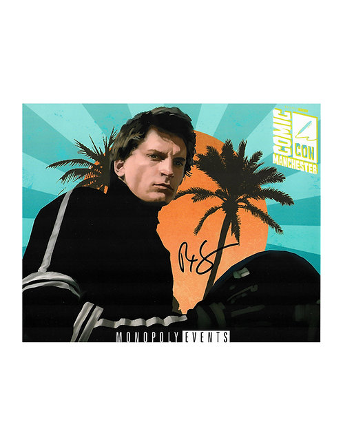 10x8 Streethawk Print Signed by Rex Smith