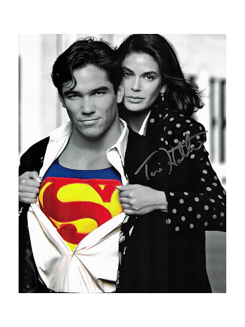 8x10 Superman Print Signed by Teri Hatcher