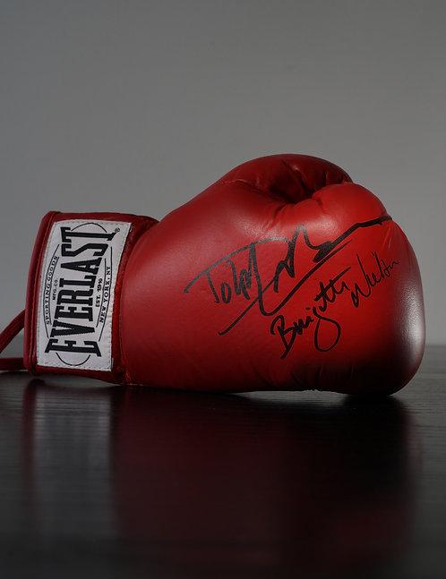 Everlast Boxing Glove Signed By Dolph Lundgren & Brigitte Neilsen