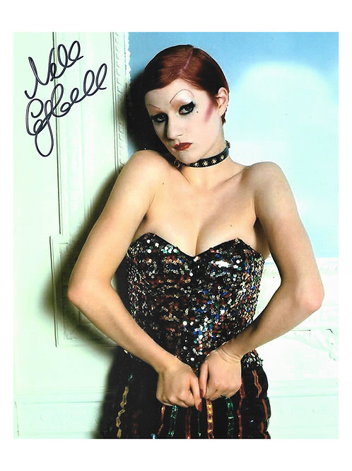 8x10 Rocky Horror Picture Show Print Signed by Nell Campbell aka Little Nell
