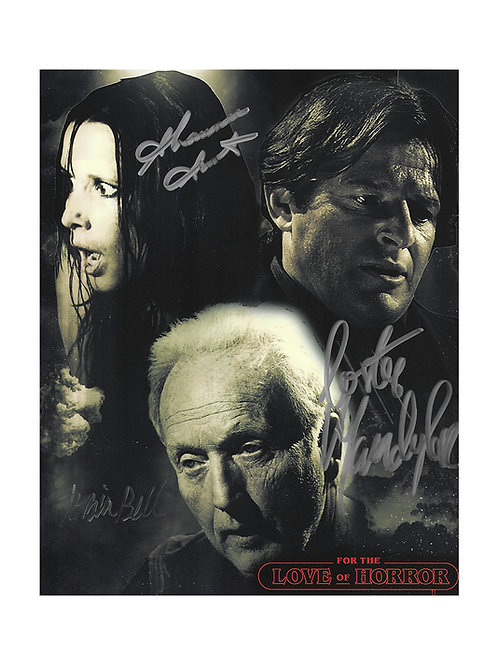 8x10 Saw Triple Print Signed by Tobin Bell, Shawnee Smith & Costas Mandylor