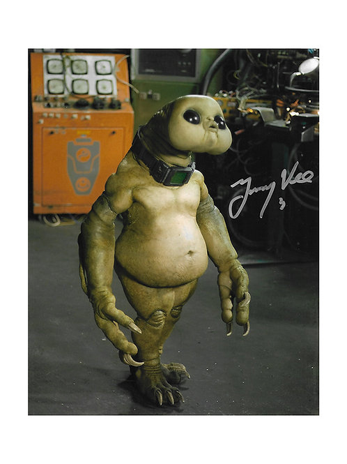 8x10 The Sarah Jane Adventures Print Signed by Jimmy Vee