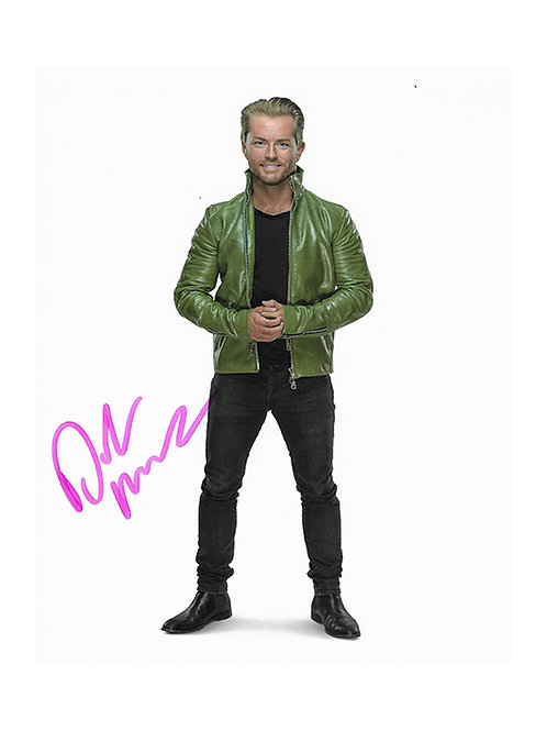 8x10 Print Signed by Wrestling Superstar Drake Maverick