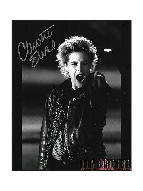 8x10 Body Snatchers Print Signed by Christine Elise
