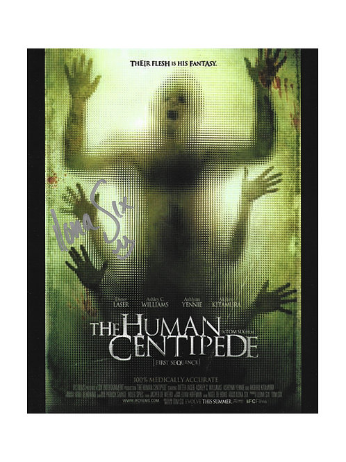 8x10 The Human Centipede Print Signed by Chris McCorkindale