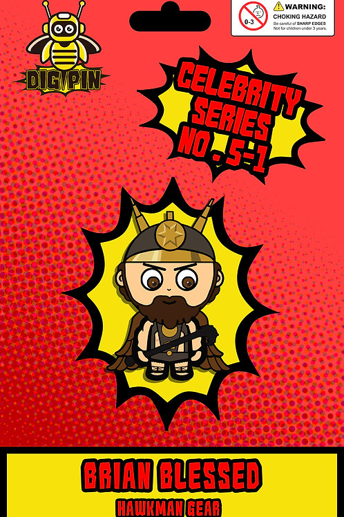 Celebrity Series Brian Blessed #5-1 - Hawkman Gear