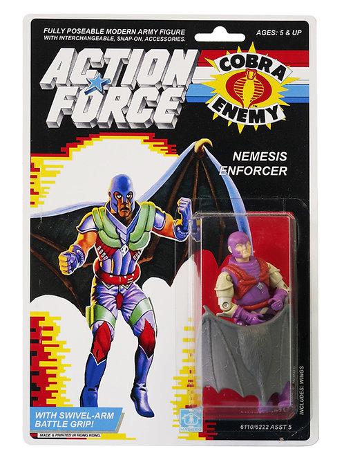 Action Force GI Joe Nemesis Enforcer MOC Carded Custom