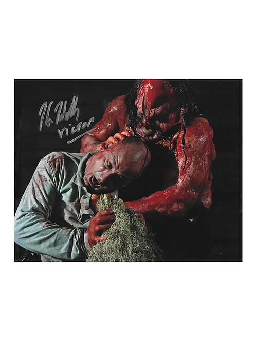 10x8 Hatchet III Print Signed by Kane Hodder