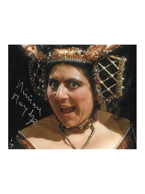 10x8 The Black Adder Print Signed by Miriam Margolyes