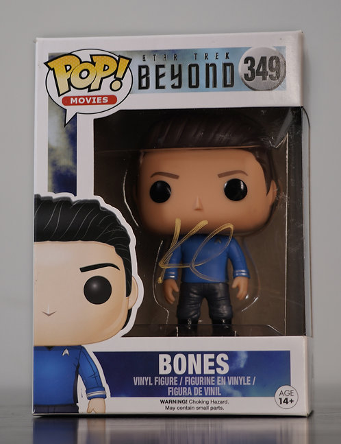 Bones Star Trek Funko Pop Signed by Karl Urban