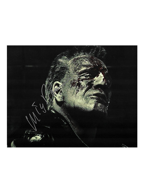 10x8 Sin City Print Signed by Mickey Rourke