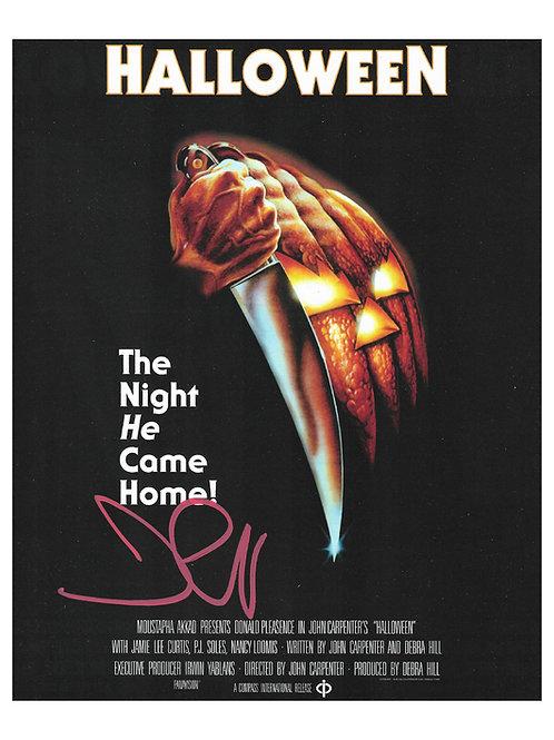 8x10 Halloween Print Signed by John Carpenter