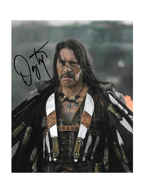8x10 Grindhouse Print Signed by Danny Trejo