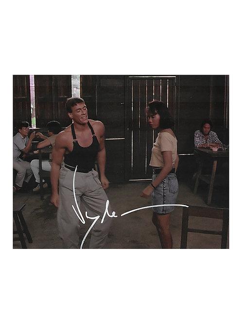Kickboxer Print Signed by JCVD Jean-Claude Van Damme