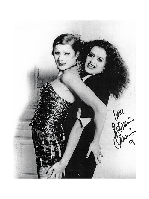 8x10 Rocky Horror Picture Show Print Signed by Patricia Quinn