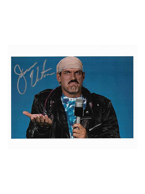 10x8 Print Signed by Wrestling Superstar Jesse Ventura
