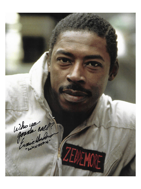 8x10 Ghostbusters Quoted Print Signed by Ernie Hudson
