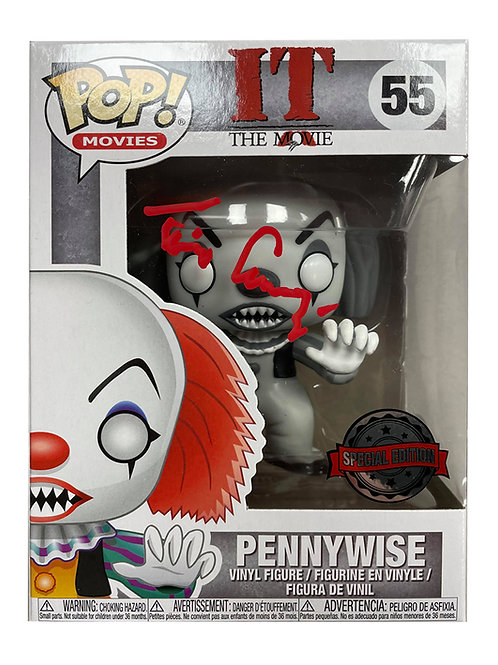 Pennywise Funko Pop Signed by Tim Curry