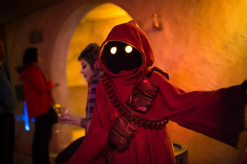 Cosplay at Cantina Space Bar
