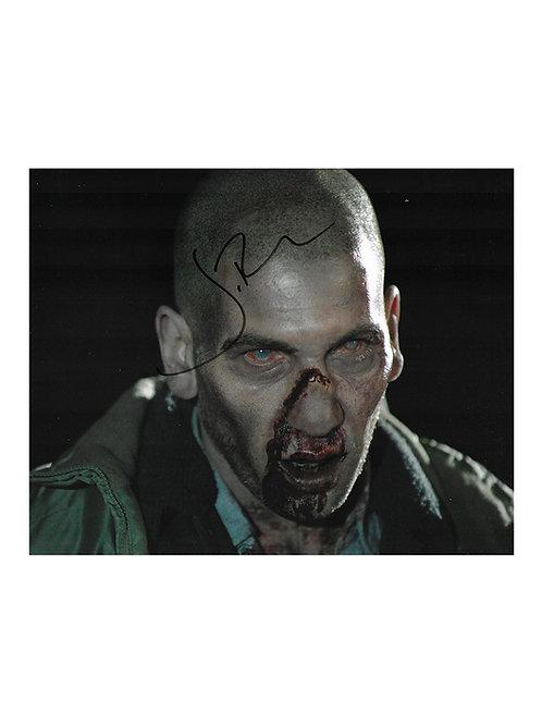 10x8 The Walking Dead Print Signed by Jon Bernthal