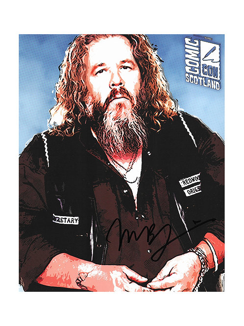 8x10 Sons Of Anarchy Print Signed by Mark Boone Jr.