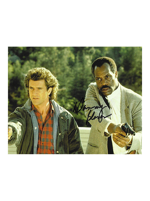 10x8 Lethal Weapon 2 Print Signed by Danny Glover