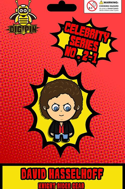 Celebrity Series David Hasselhoff #2-1 - Knight Rider Gear