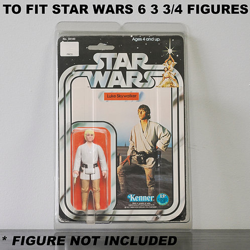 Protective Cases For Star Wars 3 3/4 Inch MOC Figures - Various Pack Size