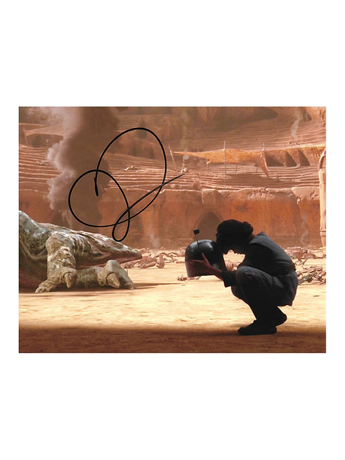 10x8 Star Wars Boba Fett Print Signed by Daniel Logan