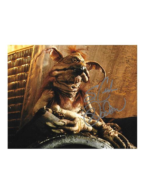 10x8 Star Wars Salacious B. Crumb Print Signed by Mark Dodson