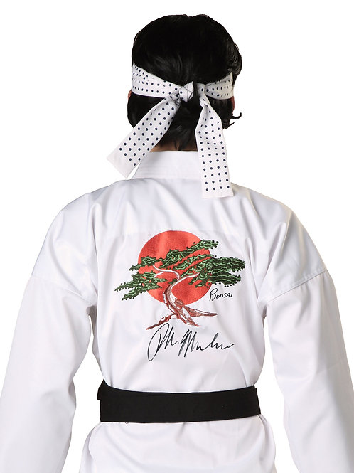 Karate Kid Full Karate Gi Signed by Ralph Macchio