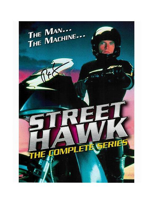 8x10 Streethawk Print Signed by Rex Smith