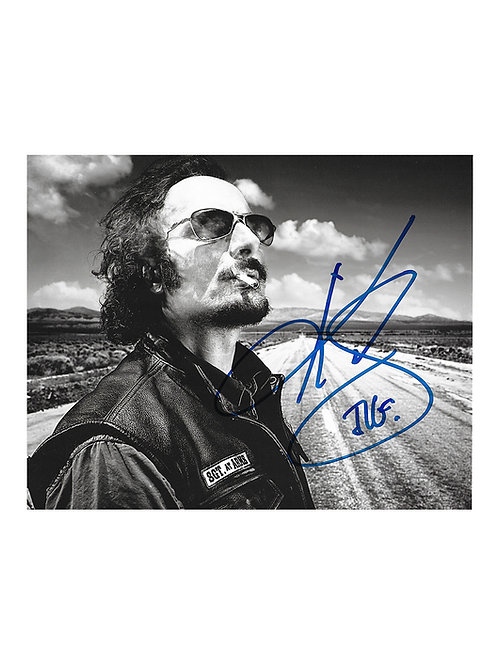 10x8 Sons Of Anarchy Print Signed by Kim Coates