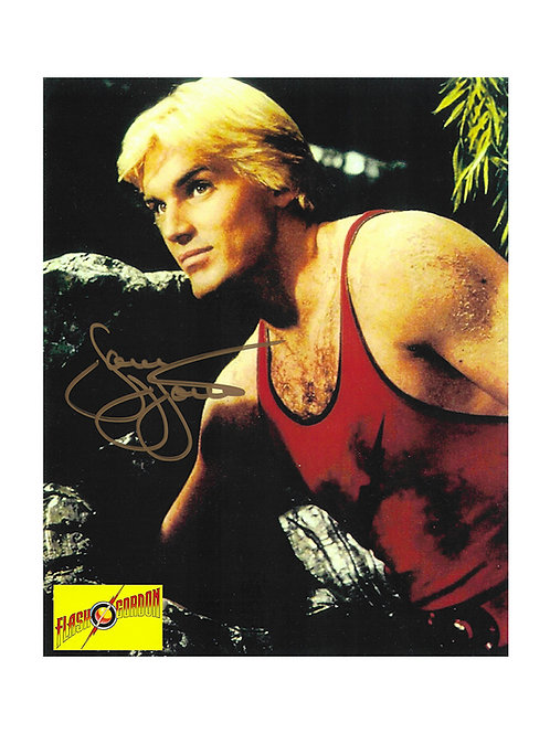 8x10 Flash Gordon Print Signed by Sam J Jones
