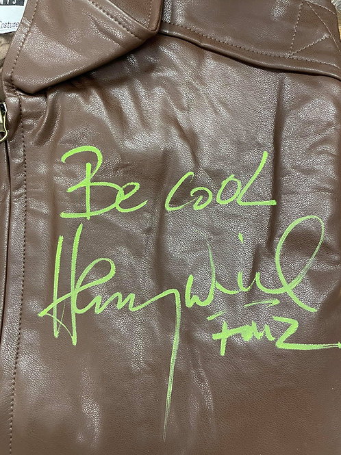 Be Cool Authentic Fonzie Leather Jacket Signed By Henry W