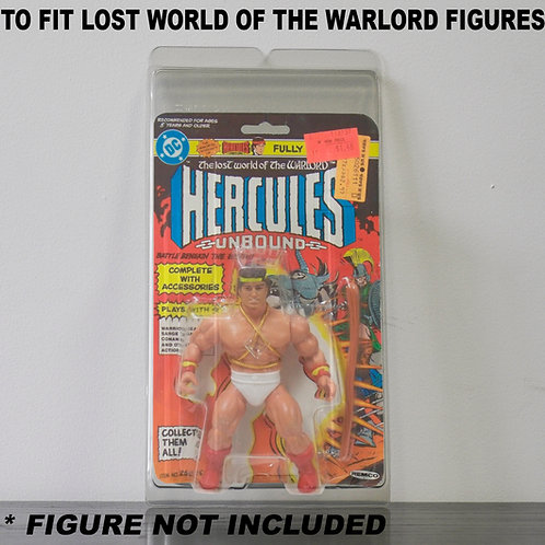 Protective Cases For MOC Lost World Of The Warlord Figures - Various Pack Sizes