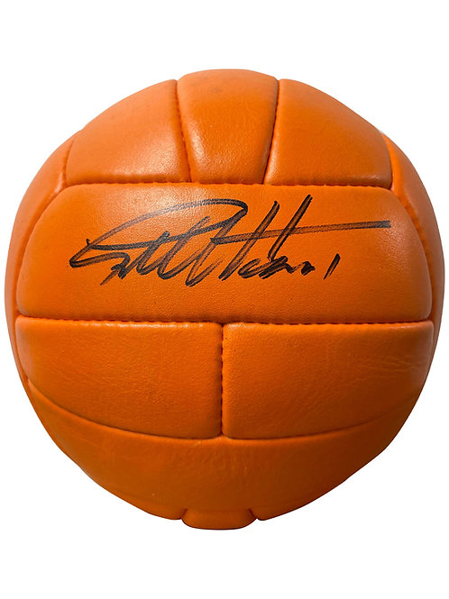 1966 World Cup Replica Football Signed By Sir Geoff Hurst