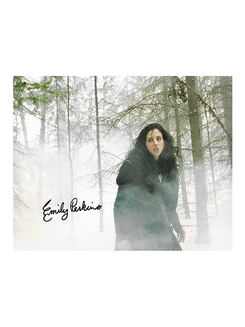 10x8 Ginger Snaps Back: The Beginning Print Signed by Emily Perkins